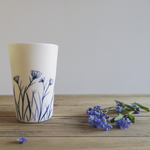 Gobelet en céramique de l'atelier de céramiste Myriem Verhille